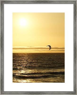 Golden Day Framed Print by Ernie Echols