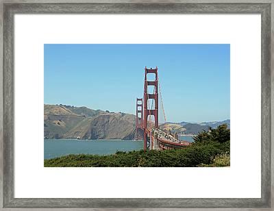 Golden Gate Framed Print by Wendi Matson