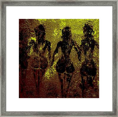 Golden Harmony Framed Print by Piety Dsilva