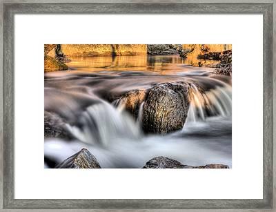 Golden Pond Framed Print by JC Findley