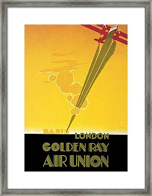 Golden Ray Framed Print by E Maurus
