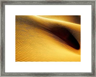 Golden Sands Of Libya Framed Print by Joe & Clair Carnegie / Libyan Soup