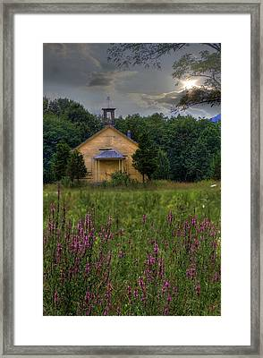Golden School Days Framed Print by Sharon Batdorf