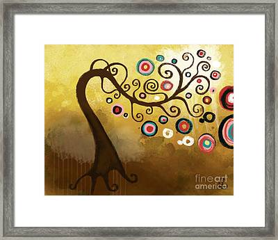 Golden Skies Framed Print by Lindsey Cormier
