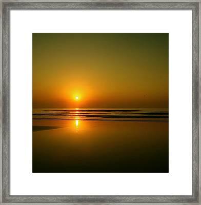 Golden Sunrise Framed Print by Darren Cole Butcher