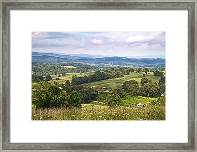 Golden View Framed Print by Betsy Knapp