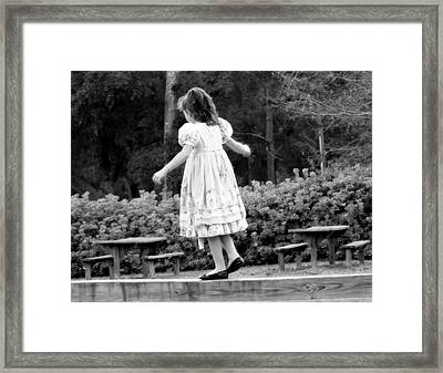 Goldilocks Framed Print by Karen Wiles