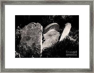 Gone But Not Forgotten Framed Print by Darren Burroughs