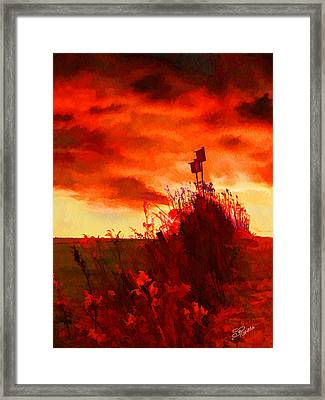Gone South Framed Print by Suni Roveto