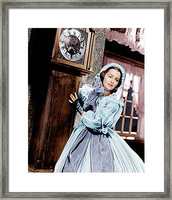 Gone With The Wind, Olivia De Framed Print by Everett