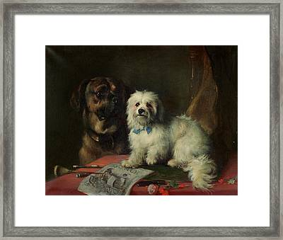 Good Companions Framed Print by Earl Thomas