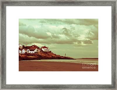 Good Harbor Beach Framed Print by Dana DiPasquale