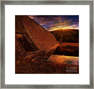 Good Morning Derwent Framed Print by Nigel Hatton