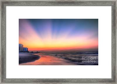 Good Morning Framed Print by Jeff Breiman