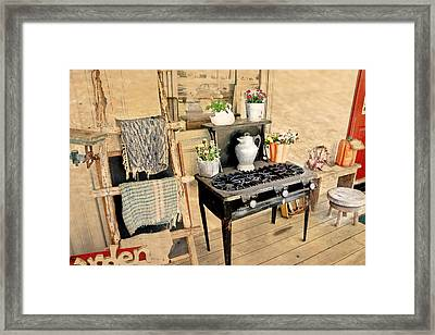 Good Old Days Framed Print by Judith Lawhon
