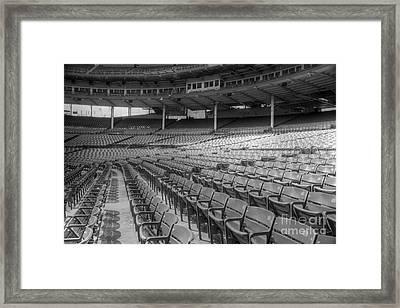 Good Seats At Wrigley Framed Print by David Bearden