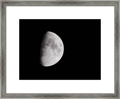 Goodbye Neil Armstrong Framed Print by Clarice  Lakota