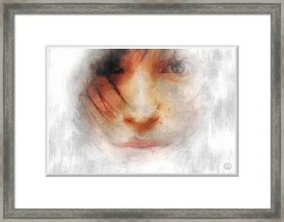 Goodbye Winter And Snow Framed Print by Gun Legler