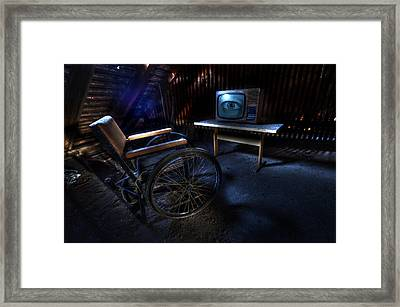 Got My Eye On You. Framed Print by Nathan Wright
