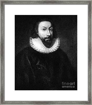 Governer John Winthrop Framed Print by Extrospection Art