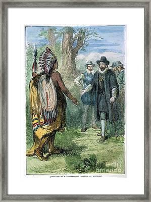 Governor John Winthrop Framed Print by Granger