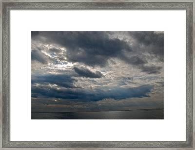 Gozo Skies Framed Print by Eric Tressler
