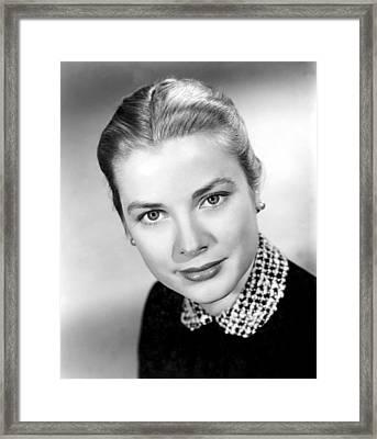 Grace Kelly, 1952 Framed Print by Everett