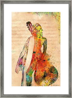 Gracias A La Vida Que Me Ha Dado Tanto Framed Print by Mark Ashkenazi