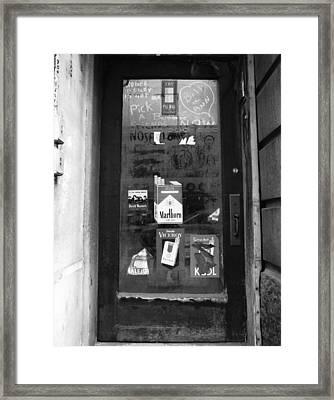 Grafitti - York Framed Print by Jan W Faul