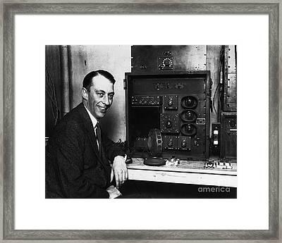 Graham Mcnamee (1888-1942) Framed Print by Granger