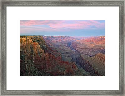 Grand Canyon Lipan Point Framed Print by Dean Pennala