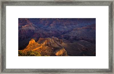Grand Canyon Panorama Framed Print by Andrew Soundarajan