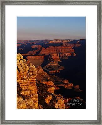 Grand Canyon Sunset Framed Print by Holger Ostwald
