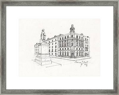 Grand Central Bar Dublin Framed Print by Eamon Gilbert