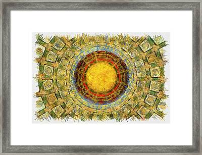 Grand China - Pencil Framed Print by Nicholas Evans