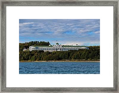 Grand Hotel Framed Print by Rachel Cohen