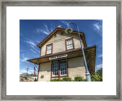 Grand Old Dame Framed Print by Cindy Nunn