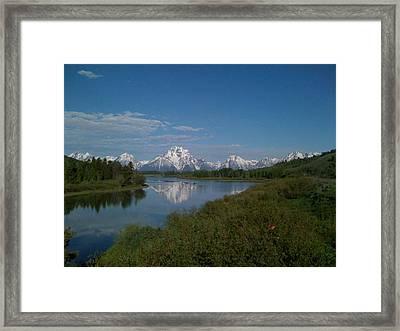 Grand Teton National Park Framed Print by Tanya Moody