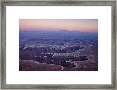 Grand View Point - Utah Framed Print by Andrew Soundarajan