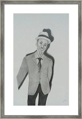 Granddaddy Framed Print by Zendre Strother