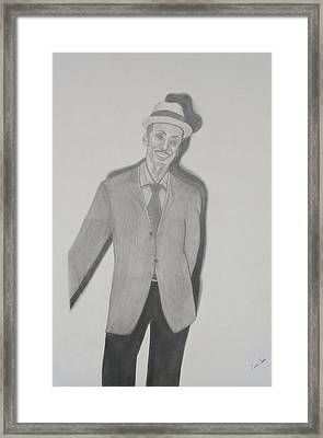 Granddaddy2 Framed Print by Zendre Strother