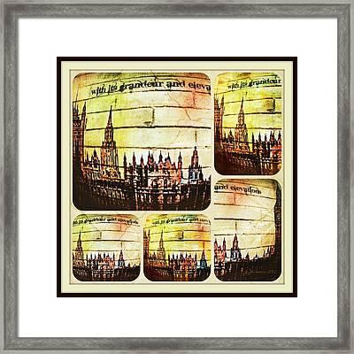 Grandeur And Elevation Framed Print by Jan Steadman-Jackson