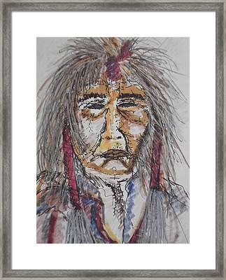 Grandfather  Spirit Framed Print by Nashoba Szabol
