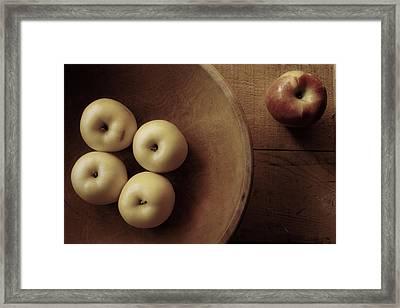 Grandma's Kitchen Framed Print by Toni Hopper