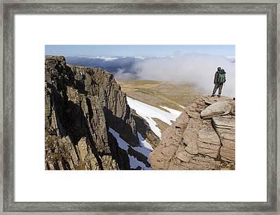 Granite Cliffs, Scotland Framed Print by Duncan Shaw