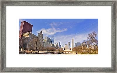 Grant Park Chicago Framed Print by Dejan Jovanovic