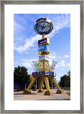Grapevine Mills Mall Framed Print by Ricky Barnard