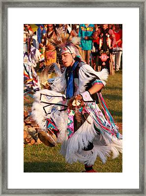 Grass Dancer Framed Print by Roupen  Baker
