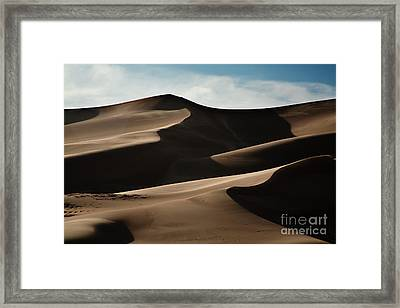 Great Sand Dunes Framed Print by Keith Kapple