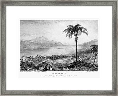 Greece: Kefalonia, 1833 Framed Print by Granger
